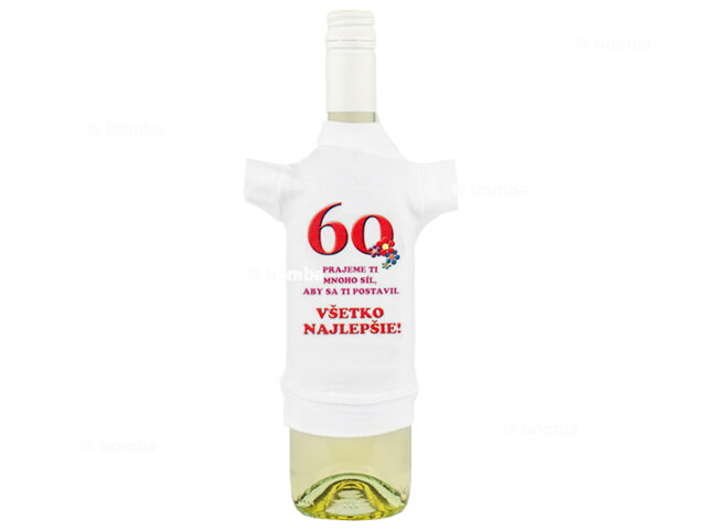 Tričko na fľašu k šesťdesiatke II b223e2f42e0