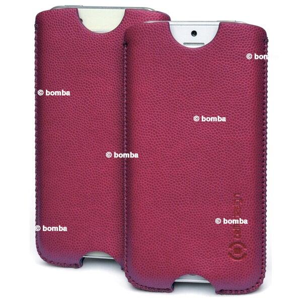 Koženkové puzdro pre iPhone 5 5S vínové 17320c3212b