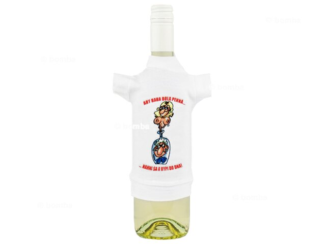 Tričko na fľašu k narodeninám bb381ff24ac